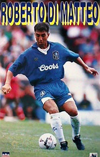 Roberto DiMatteo Chelsea FC Action Poster - Starline 1996