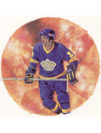 "Marcel Dionne ""Legend"" Art Print - Canada Post 2004"