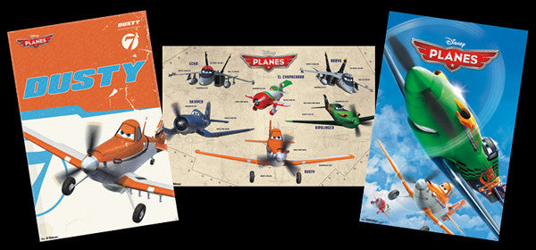 Disney PLANES Official Three-Poster Combo - Trends International 2013