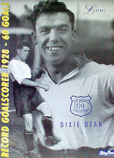 "Dixie Dean ""Everton Legend"" - U.K. 2000"