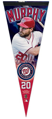 Daniel Murphy Washington Nationals Signature Series Premium Felt Commemorative Pennant - Wincraft