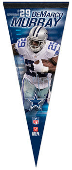 "DeMarco Murray ""Signature Series"" Premium NFL Felt Collector's Pennant (2012) - Wincraft"