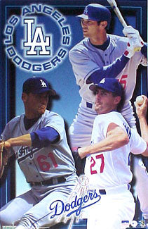 "Los Angeles Dodgers ""Three Stars"" - Starline 2001"