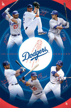 "L.A. Dodgers ""Superstars"" (2011) - Costacos Sports"