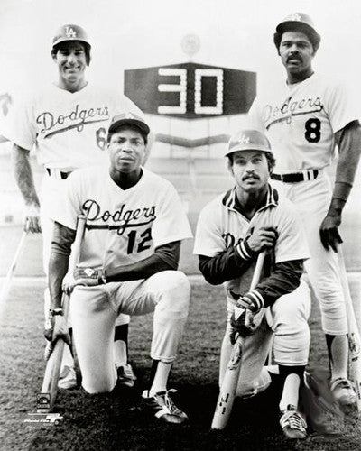 "Los Angeles Dodgers ""30 Homer Four"" (1977) Premium Classic Poster Print - Photofile Inc."