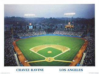 Chavez Ravine - Stadium Views 1992
