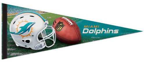 Miami Dolphins NFL Football Premium Felt Collector's Pennant - Wincraft Inc.