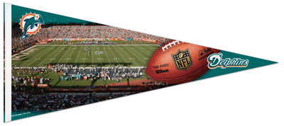 Miami Dolphins LAND SHARK STADIUM GAMEDAY Extra-Large Premium Pennant