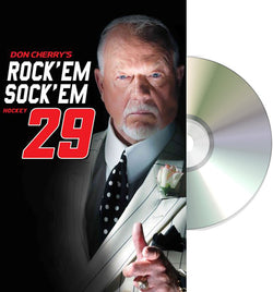 DVD: Don Cherry Rock'em Sock'em 29 (2017) NHL Hockey Home Video