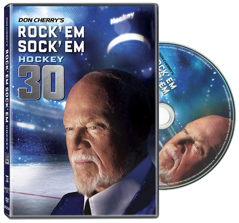 DVD: Don Cherry Rock'em Sock'em 30 (2018) NHL Hockey Home Video DVD Disc