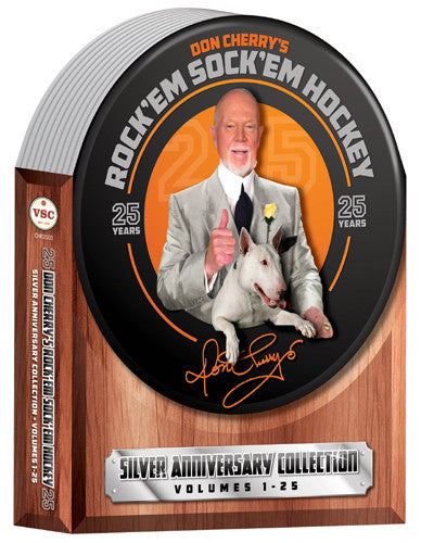 DVD SET: Don Cherry Rock'em Sock'em #1-25 Complete 8-DVD Collection