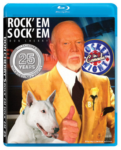 BLURAY: Don Cherry Rock'em Sock'em Hockey #25 (2013)