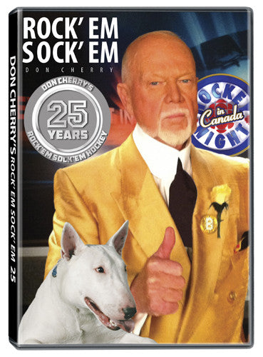 DVD: Don Cherry Rock'em Sock'em Hockey #25 (2013)