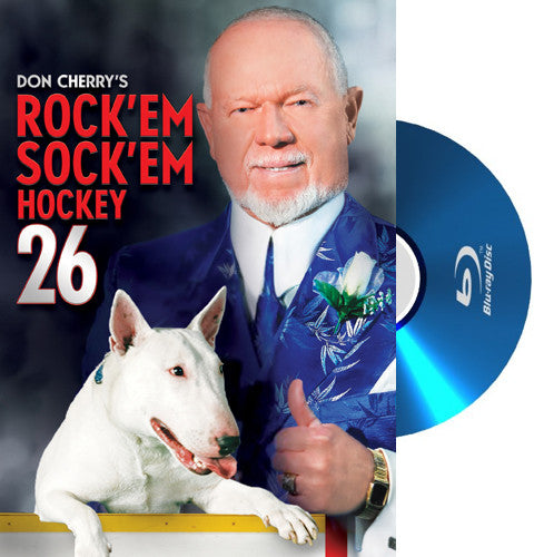 BLU-RAY: Don Cherry Rock'em Sock'em Hockey #26 (2014)