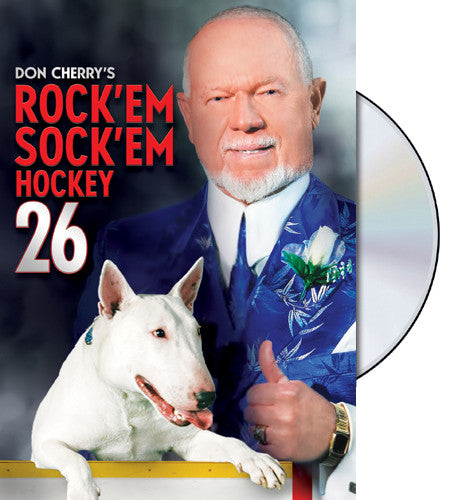 DVD: Don Cherry Rock'em Sock'em Hockey #26 (2014)