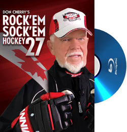 BLURAY: Don Cherry Rock'em Sock'em 27 (2015) NHL Hockey Video - VSC