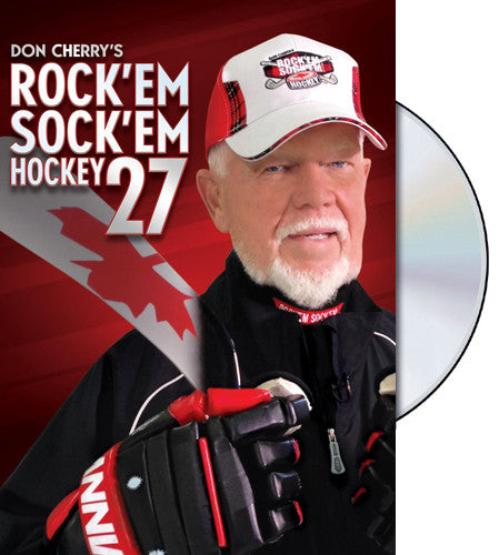 DVD: Don Cherry Rock'em Sock'em 27 (2015) NHL Hockey Video - VSC