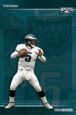 "Donovan McNabb ""Intensity"" Philadelphia Eagles QB Action Poster - Costacos 2003"
