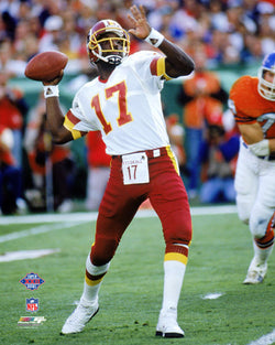"Doug Williams ""Super Bowl Glory"" (1988) Washington Redskins Premium Poster - Photofile"