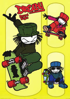 """Dready Board Style"" - Pyramid Posters 2002"