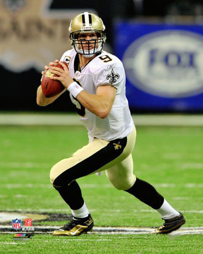 "Drew Brees ""Gunslinger"" New Orleans Saints Premium Poster Print - Photofile 16x20"