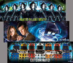 Doctor Who (BBC TV Series) 12x36 Three-Poster Combo - Culturenik