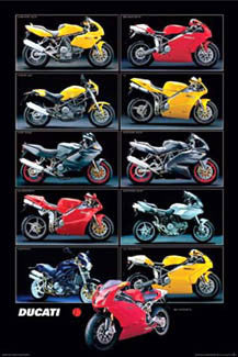 Ducati 11-Model Collage - Nuova 2003