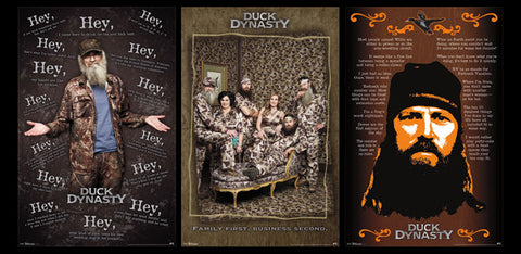 COMBO: Duck Dynasty Three-Poster Combo (Si, Jase, Family Portrait) - Trends 2013