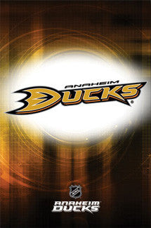 Anaheim Ducks Official NHL Logo Poster - Costacos Sports