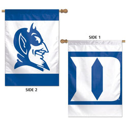 Duke Blue Devils Official NCAA Sports 2-Sided Vertical Flag Wall Banner - Wincraft Inc.