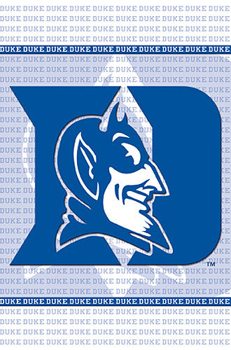 Duke Blue Devils Official NCAA Sports Team Logo Poster - Costacos Sports