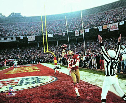 "Dwight Clark ""The Catch"" San Francisco 49ers 1982 Premium Color Poster Print - Photofile Inc."
