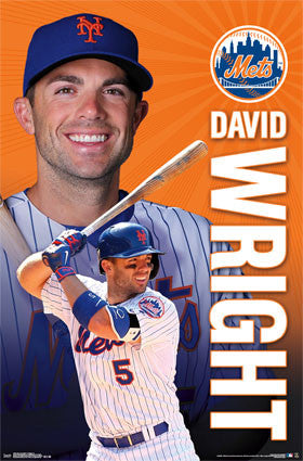 "David Wright ""Shining Star"" New York Mets Poster - Trends 2015"