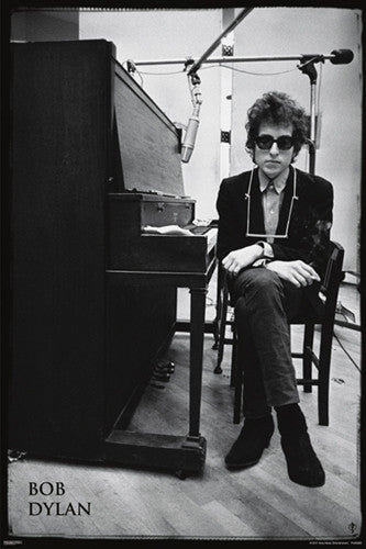 "Bob Dylan ""At the Piano"" (1965) Poster - Pyramid America"