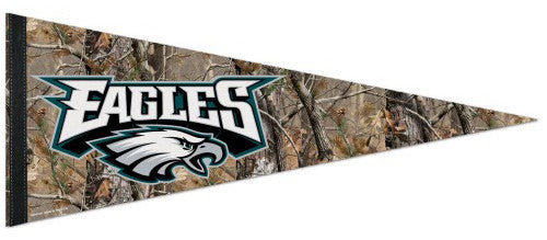 "Philadelphia Eagles ""Backwoods"" NFL Football Premium Felt Pennant - Wincraft Inc."