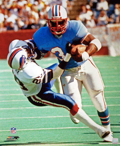 "Earl Campbell ""Out of My Way"" (c.1983) Houston Oilers Premium Poster Print - Photofile Inc."