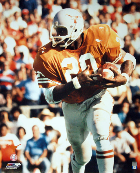 Earl Campbell Texas Longhorns Football c.1977 Premium Poster Print - Photofile Inc.