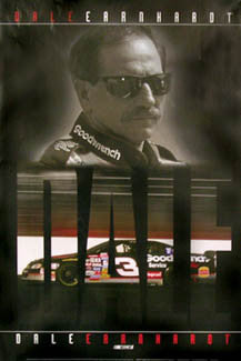 "Dale Earnhardt ""Speed"" Classic NASCAR Racing Poster - Time Factory 2006"