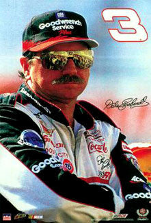 "Dale Earnhardt ""Attitude"" NASCAR Racing Poster - Starline 1998"