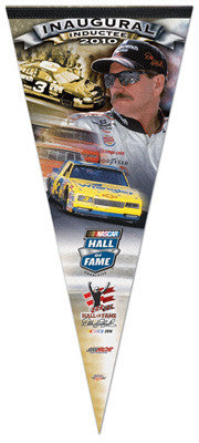 Dale Earnhardt NASCAR HALL-OF-FAME 2010 Commemorative Pennant