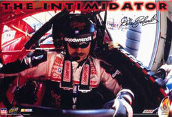 "Dale Earnhardt ""The Intimidator"" NASCAR Cockpit Poster - Starline 1998"