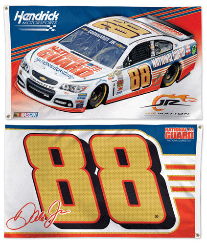 Dale Earnhardt Jr. NASCAR #88 National Guard Chevrolet SS Huge 3' x 5' Banner Flag - Wincraft 2014