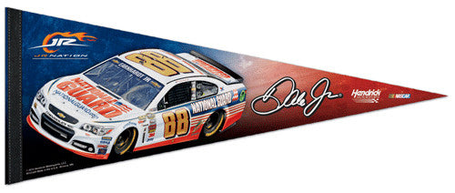 "Dale Earnhardt Jr. ""Signature"" National Guard 88 (2014) Premium Felt Collector's Pennant - Wincraft"