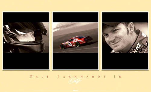 "Dale Earnhardt Jr. ""Trio"" - Time Factory 2006"