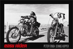 "Easy Rider ""Harley-Davidson Legendary Ride"" Poster (Peter Fonda and Dennis Hopper) - Studio B"