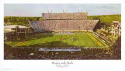 "East Carolina Pirates Football ""Pirates Sink Heels"" Panoramic Poster - Sofa Galleria 2007"