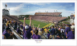 "East Carolina Football ""Pirate Storm"" Dowdy-Ficklen Gameday Poster Print - SPI"
