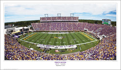 "East Carolina ""Pirate Nation"" Football Gameday Panoramic Poster Print (9/5/2010)"