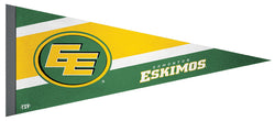 Edmonton Eskimos CFL Football Team Premium Felt Pennant - The Sports Vault Canada