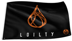 "Edmonton Oilers ""Loilty"" NHL Hockey 3'x5' Official Team Banner FLAG - The Sports Vault"